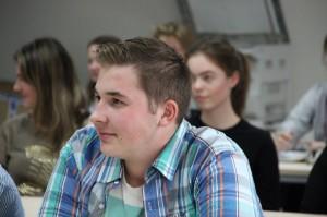 Prednáška ACET SR na Gymnázium Púchov vrámci Connect Week s Connect Clubom s Jaroslavom Hladíkom zo Senice